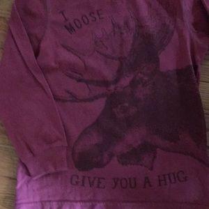 Boys Moose shirt